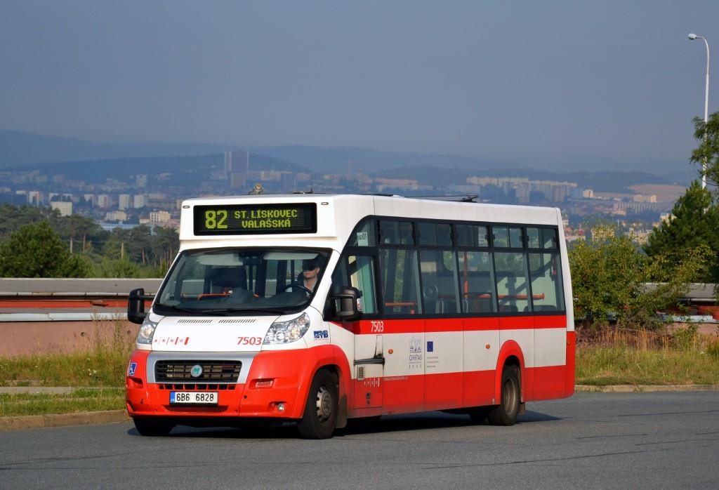 Fotogalerie » MAVE-Fiat CiBus ENA MAXI 6B6 6828 7503 | Brno | Líšeň | Podruhova