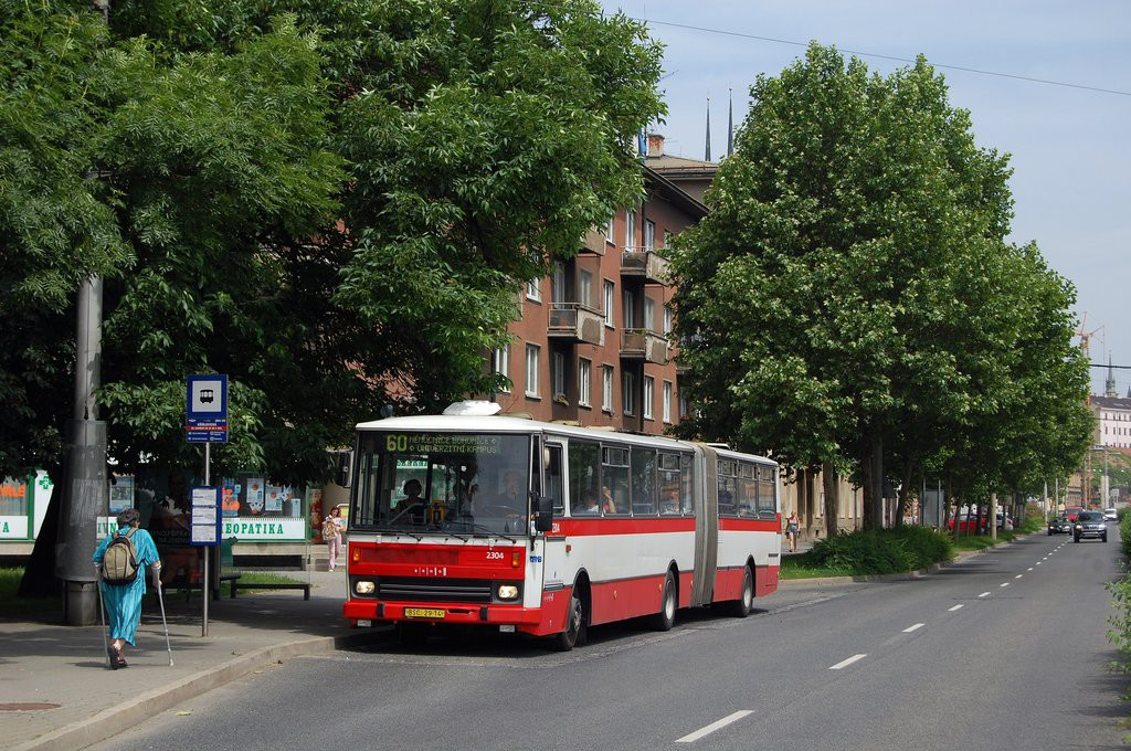 Fotogalerie » Karosa B741.1916 BSC 29-14 2304 | Brno | Staré Brno | Nové sady | Křídlovická