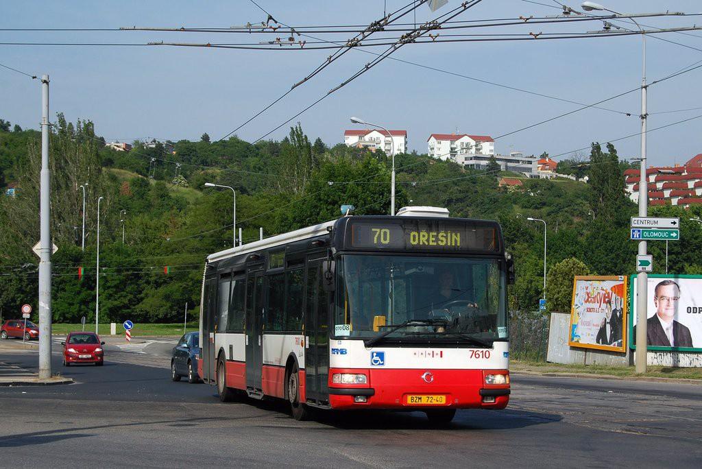 Fotogalerie » Irisbus Citybus 12M 2071.20 BZM 72-40 7610 | Brno | Královo Pole | Kosmova