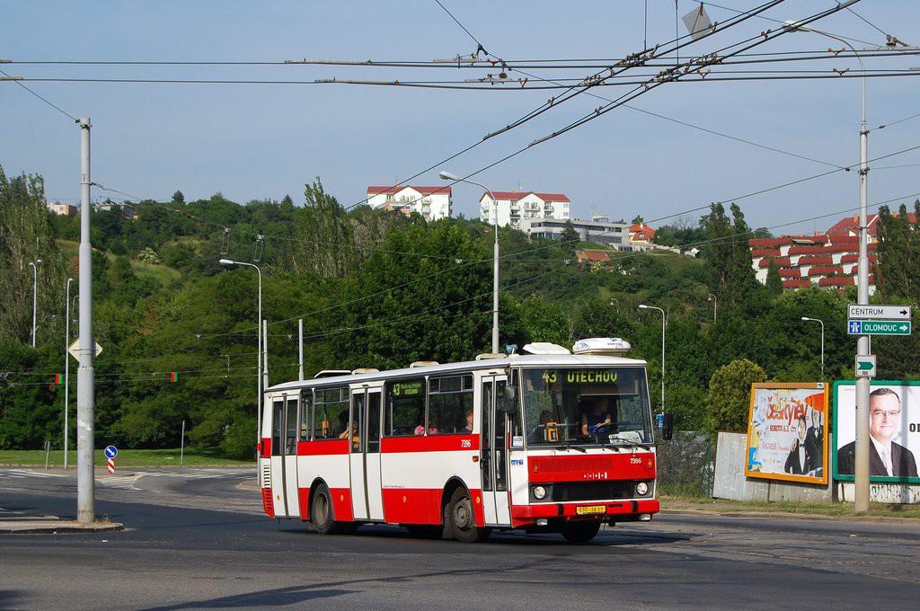 Fotogalerie » Karosa B732.1654.3 BSC 38-99 7396 | Brno | Královo Pole | Kosmova