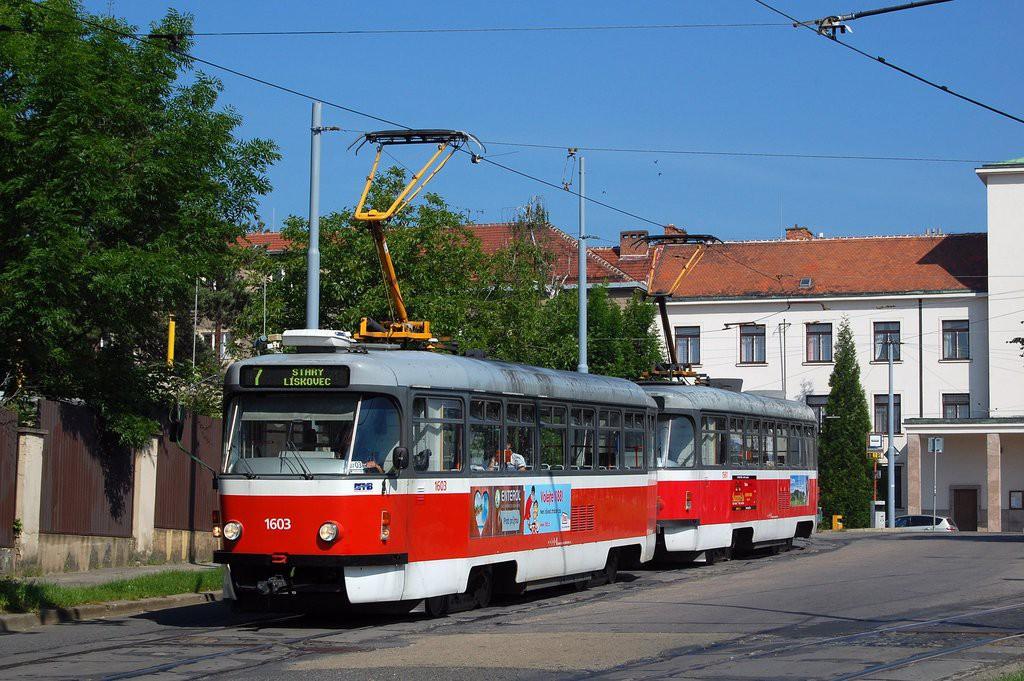 Fotogalerie » Pragoimex T3R.PV 1603 | Pragoimex T3R.PV 1561 | Brno | Masarykova Čtvrť | náměstí Míru