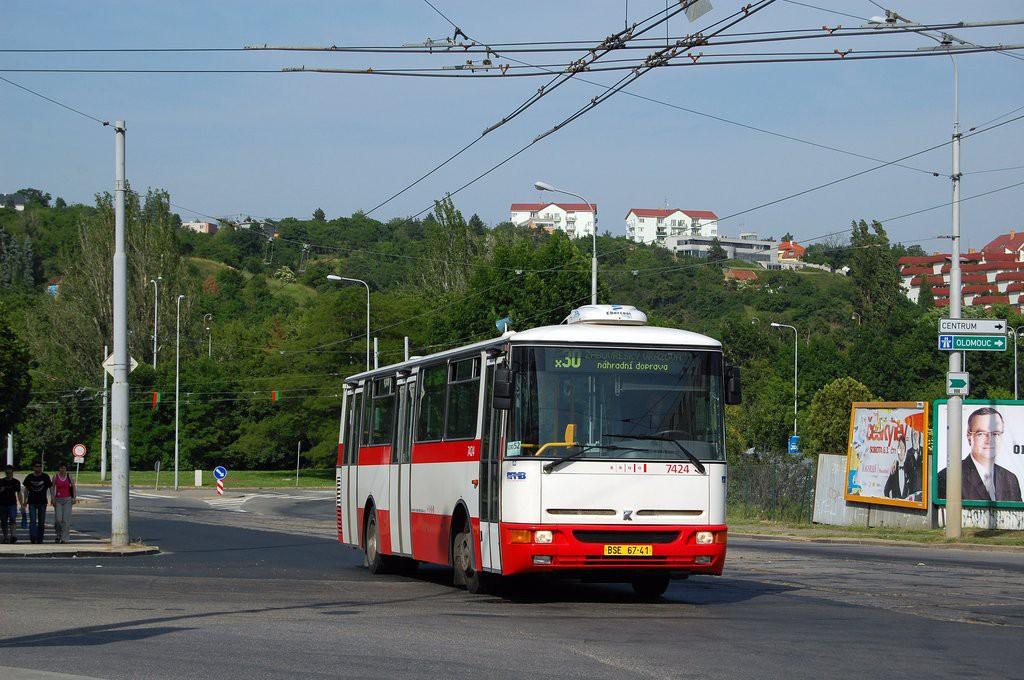 Fotogalerie » Karosa B931.1675 BSE 67-41 7424   Brno   Královo Pole   Kosmova