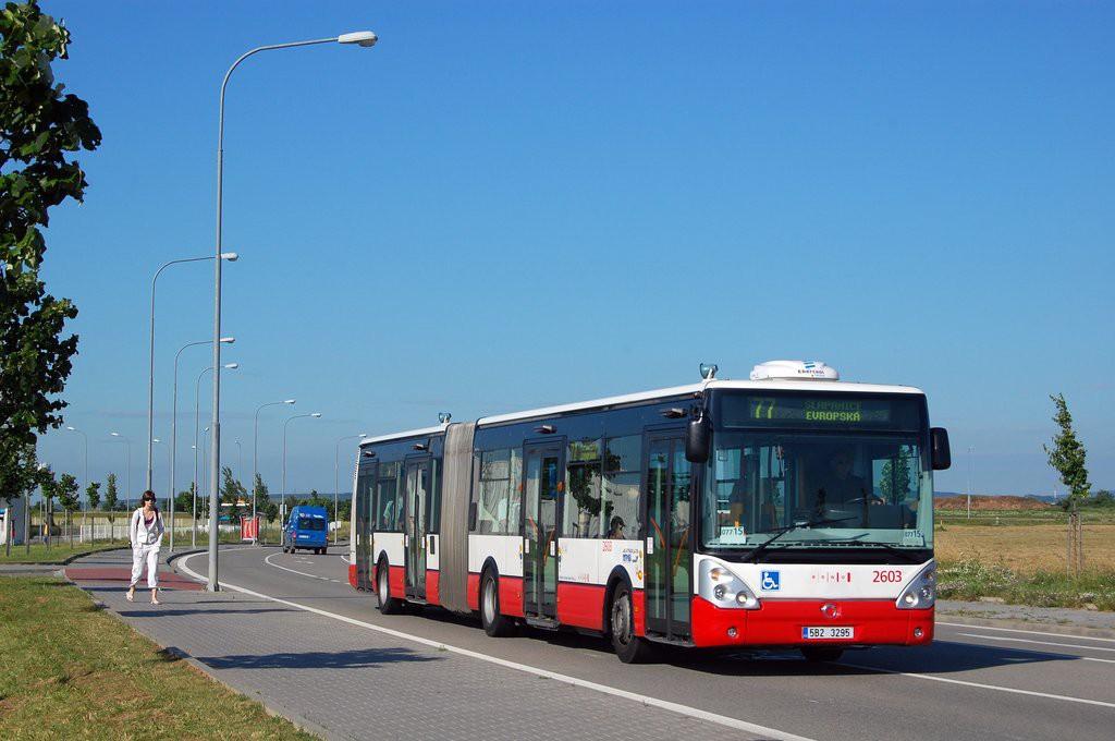 Fotogalerie » Irisbus Citelis 18M 5B2 3295 2603   Brno   Slatina   Švédské valy