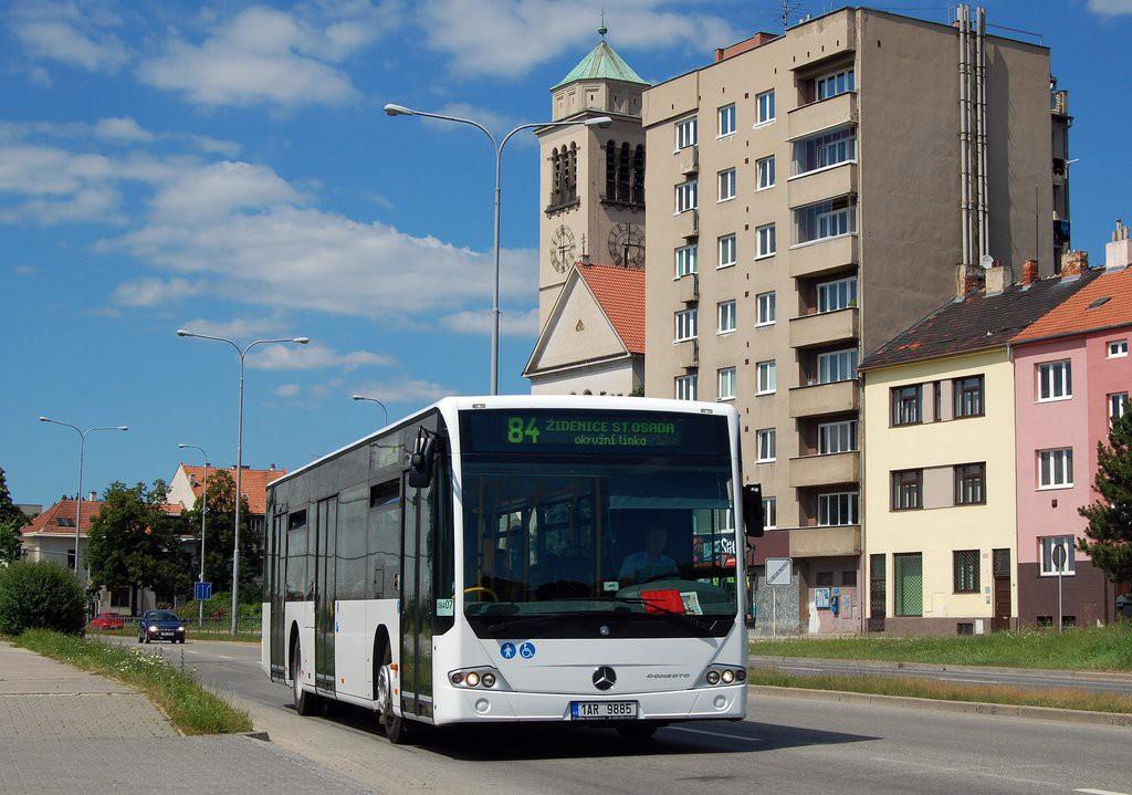 Fotogalerie » Mercedes-Benz Conecto 12M 1AR 9885 2713 | Brno | Židenice | Gajdošova