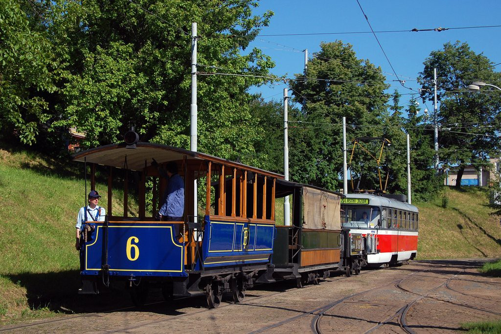 Fotogalerie » ? vk2 6 | Graz vp1 25 | ČKD Tatra T3M 1540 | Brno | vozovna Medlánky