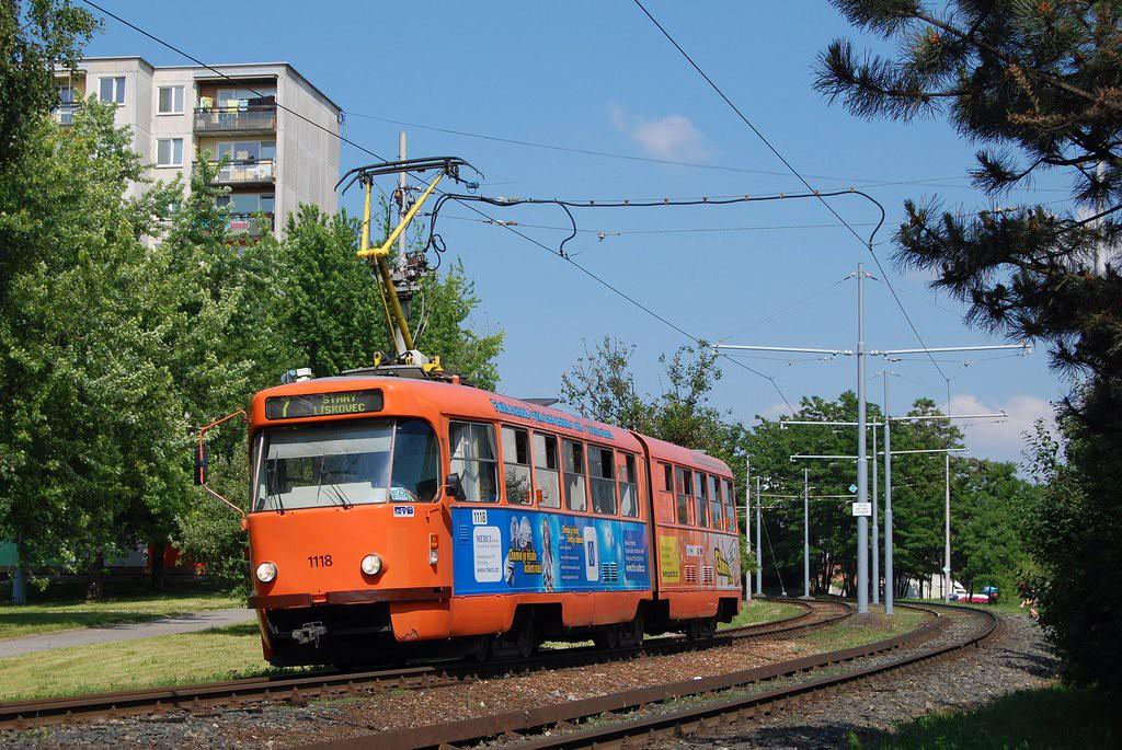 Fotogalerie » ČKD Tatra K2P 1118 | Brno | Starý Lískovec