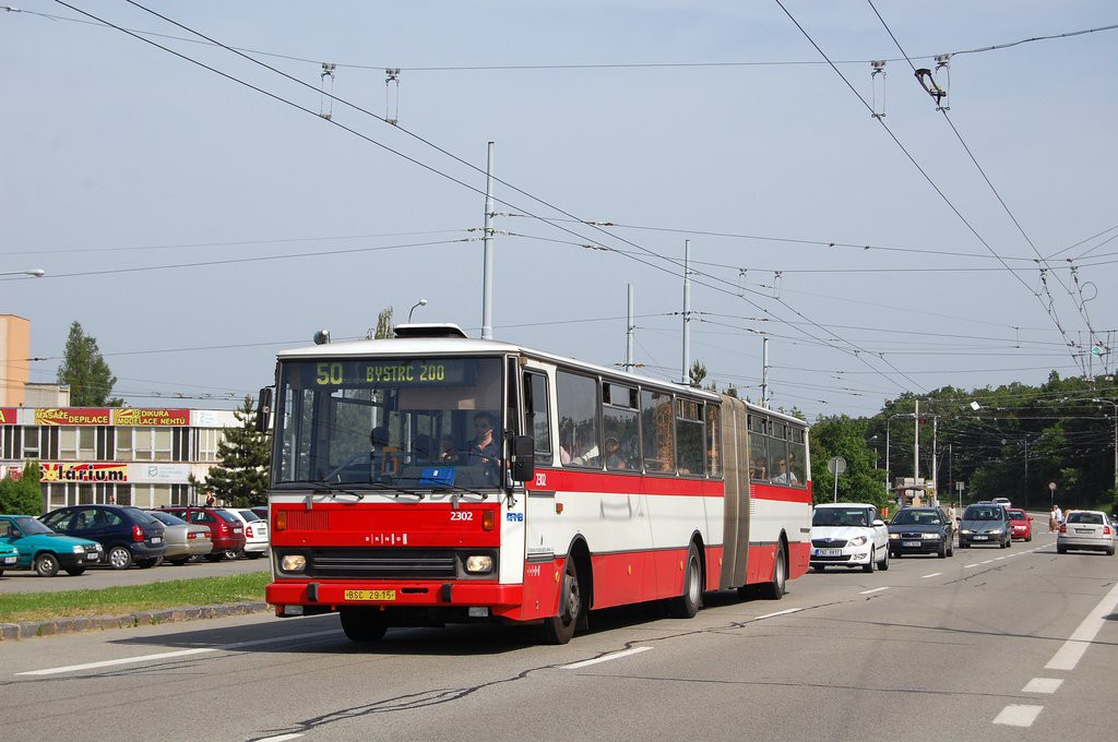 Fotogalerie » Karosa B741.1916 BSC 29-15 2302 | Brno | Kohoutovice | Libušina třída