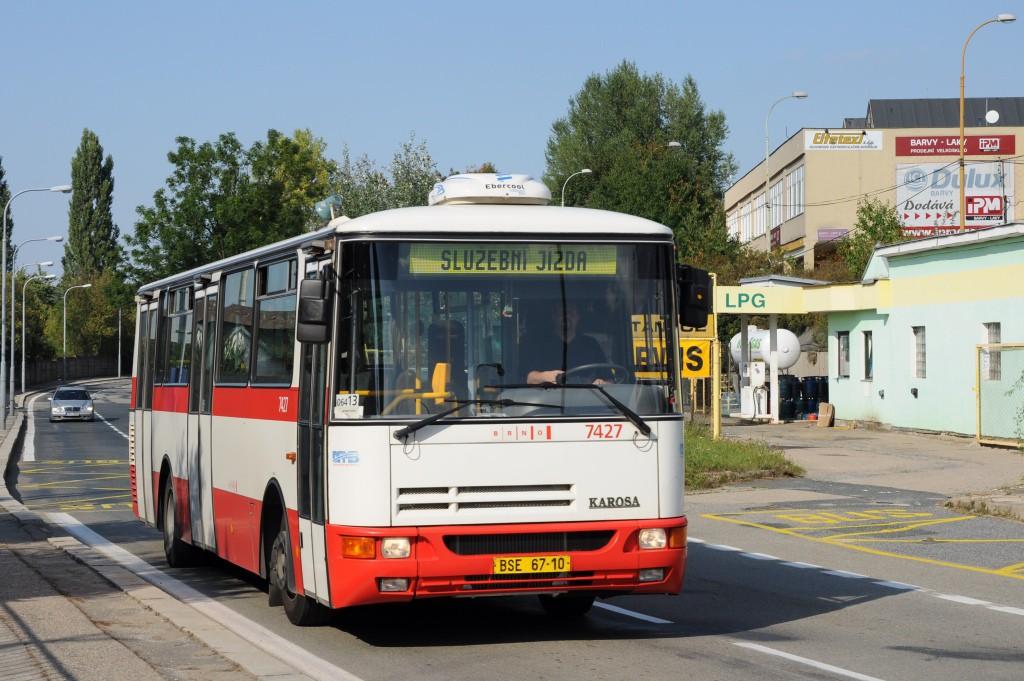 Fotogalerie » Karosa B931.1675 BSE 67-10 7427 | Brno | Maloměřice | Kulkova | Podsednická