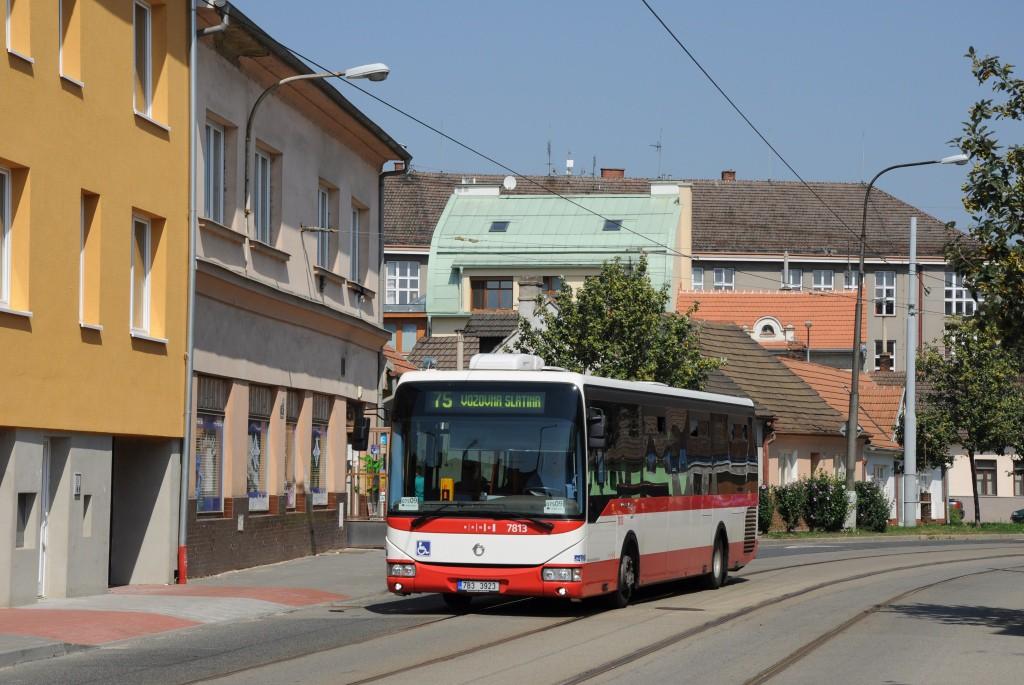 Fotogalerie » Irisbus Crossway LE 12M 7B3 3923 7813 | Brno | Maloměřice | Obřanská