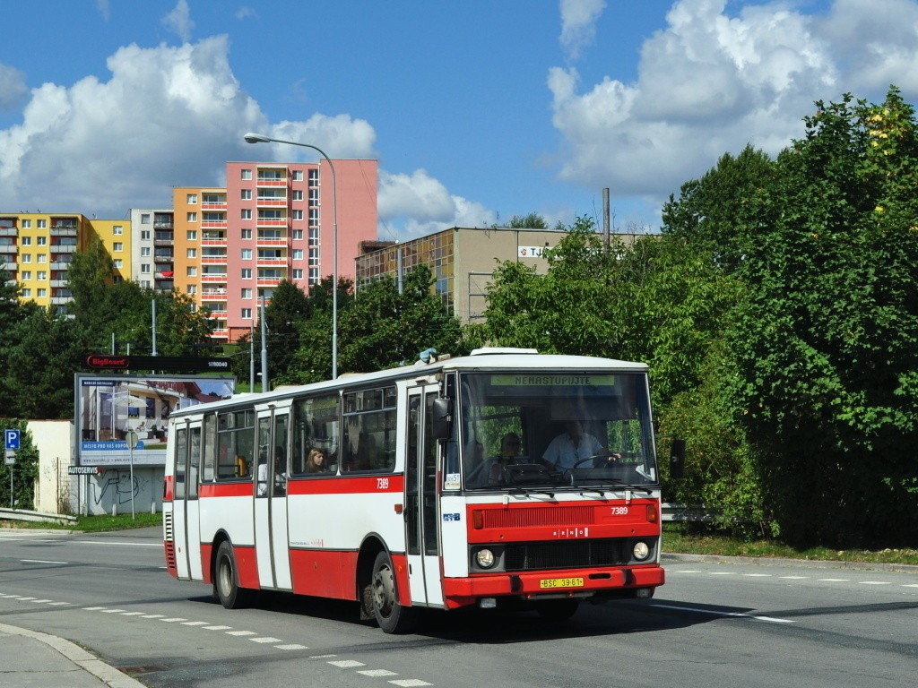 Fotogalerie » Karosa B732.1654.3 BSC 39-61 7389 | Brno | Bohunice | Dlouhá