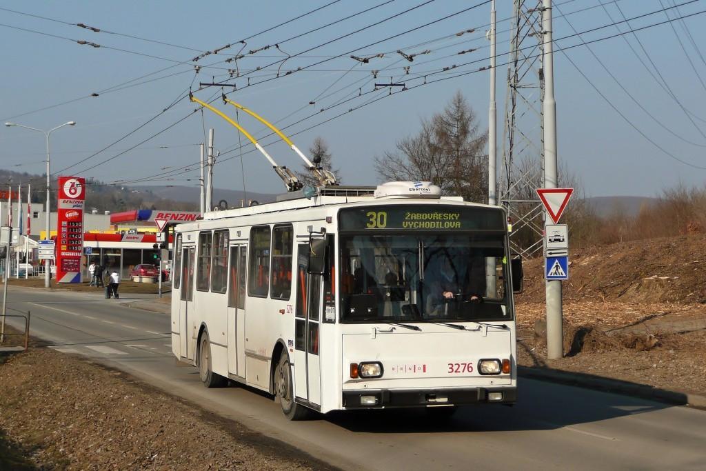 Fotogalerie » Škoda 14TrR 3276 | Brno | Komín | Kníničská | Kamenolom