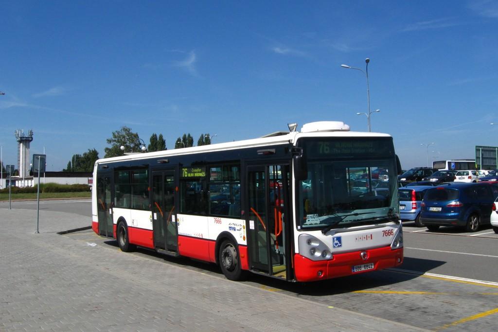 Fotogalerie » Irisbus Citelis 12M 6B6 6842 7666   Brno   Tuřany   Evropská   Letiště Tuřany
