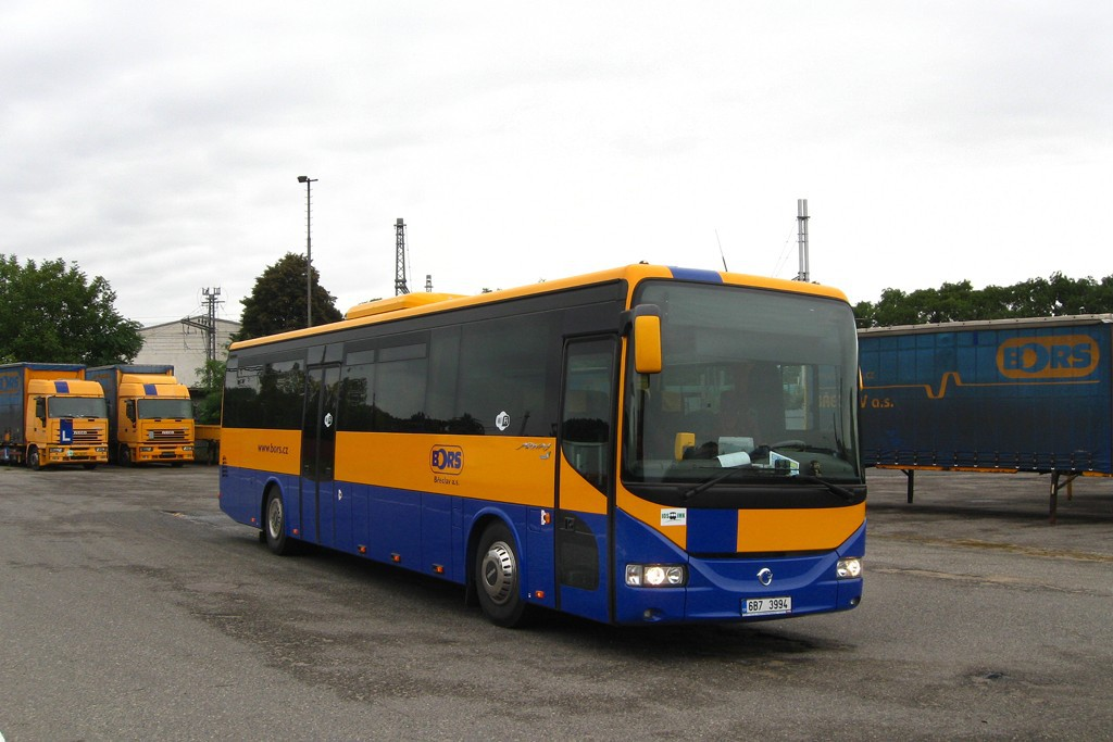 Fotogalerie » Irisbus Arway 12.8M 6B7 3994 | Břeclav | Bratislavská | garáže Břeclav (BORS Břeclav)