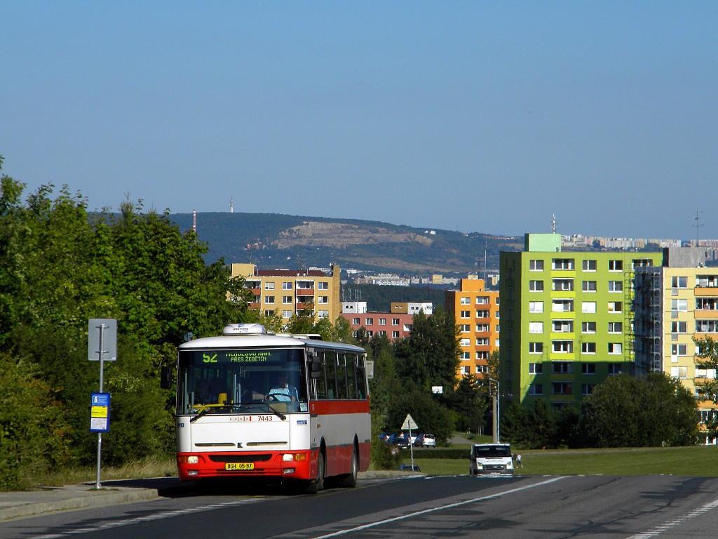 Fotogalerie » Karosa B931.1675 BSH 05-87 7443 | Brno | Bystrc | Vejrostova