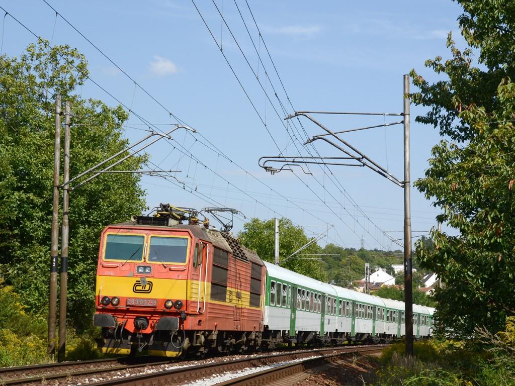 Fotogalerie » 263 263.002-8 | Brno | Obřany