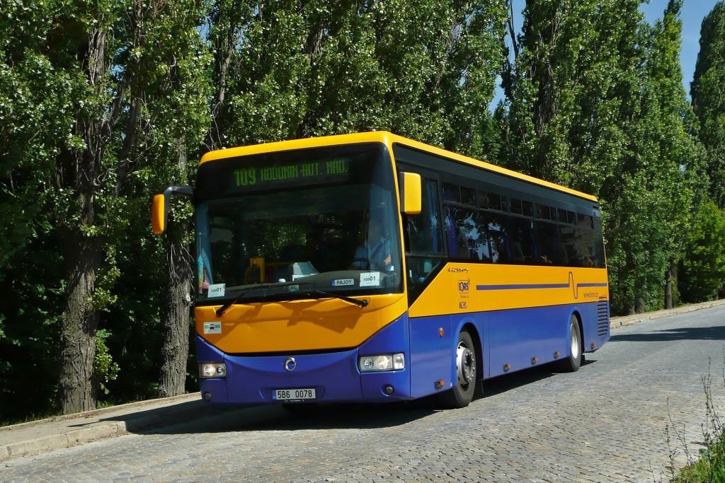 Fotogalerie » Irisbus Crossway 12M 5B6 0078   Klobouky u Brna   Brněnská