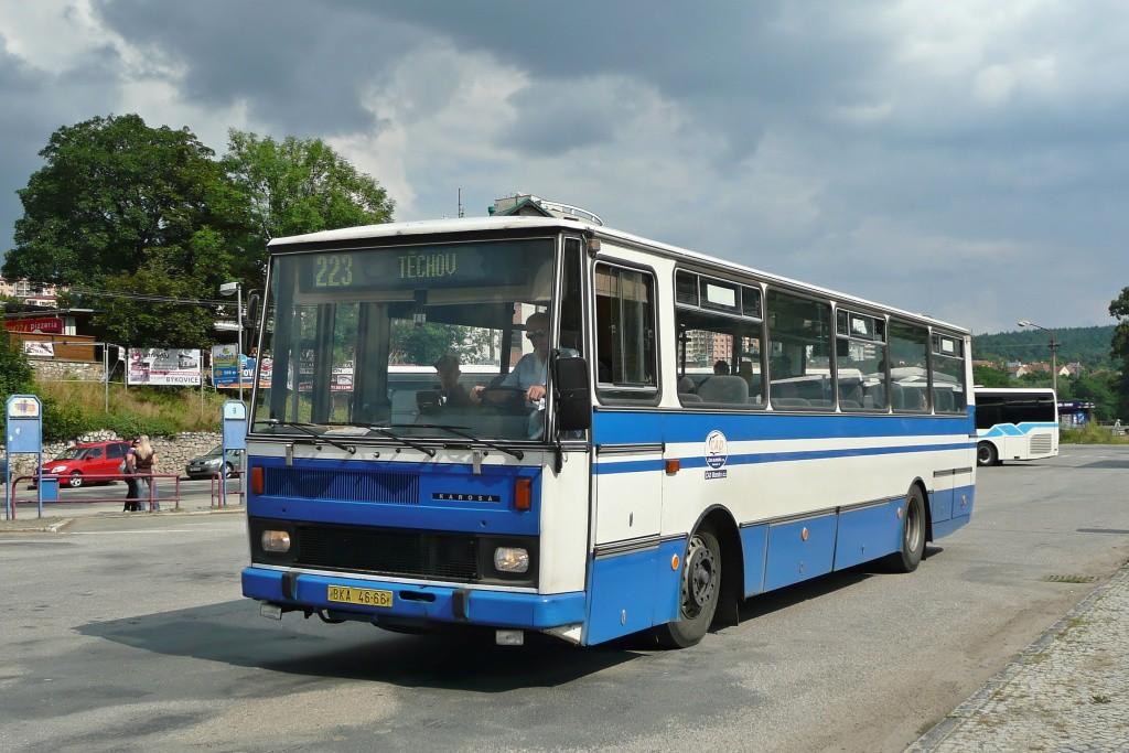 Fotogalerie » Karosa C734.1340 BKA 46-66 | Blansko | Svitavská | Autobusové stanoviště