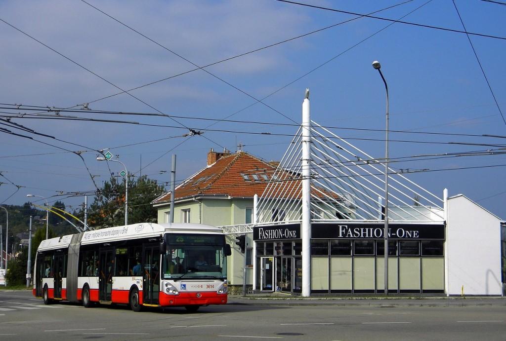 Fotogalerie » Škoda 25Tr Citelis 1B 3614 | Brno | Nový Lískovec | Rybnická