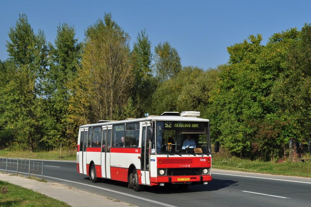 Fotogalerie » Karosa B731.1669 BSC 69-06 7418 | Brno | Žebětín | Hostislavova | Žebětínský rybník