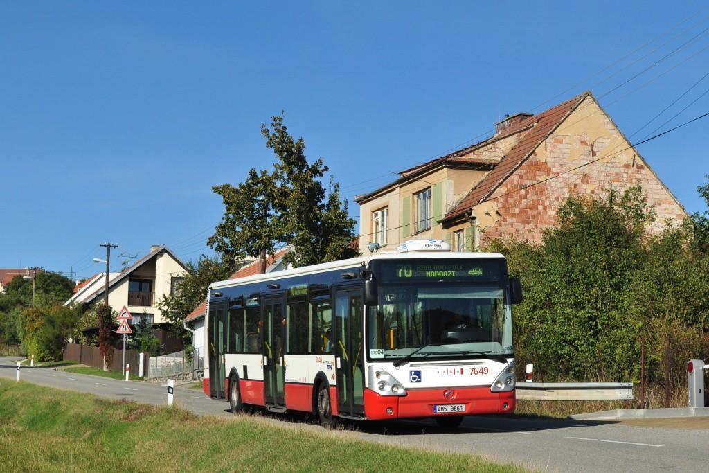 Fotogalerie » Irisbus Citelis 12M 4B5 9661 7649   Brno   Ořešín   Klimešova