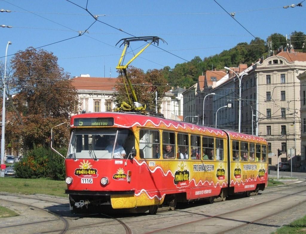 Fotogalerie » ČKD Tatra K2P 1116 | Brno | Staré Brno | Mendlovo náměstí | Mendlovo náměstí