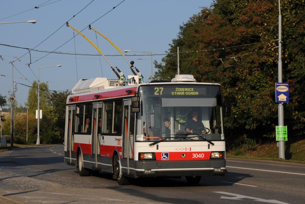 Fotogalerie » Škoda 21TrIGCT 3040 | Brno | Vinohrady | Rokytova | Akátky