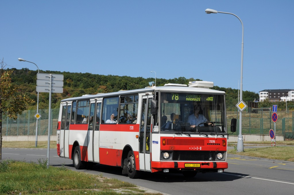 Fotogalerie » Karosa B732.1654.3 BSC 38-66 7378 | Brno | Líšeň | Podruhova | Horníkova