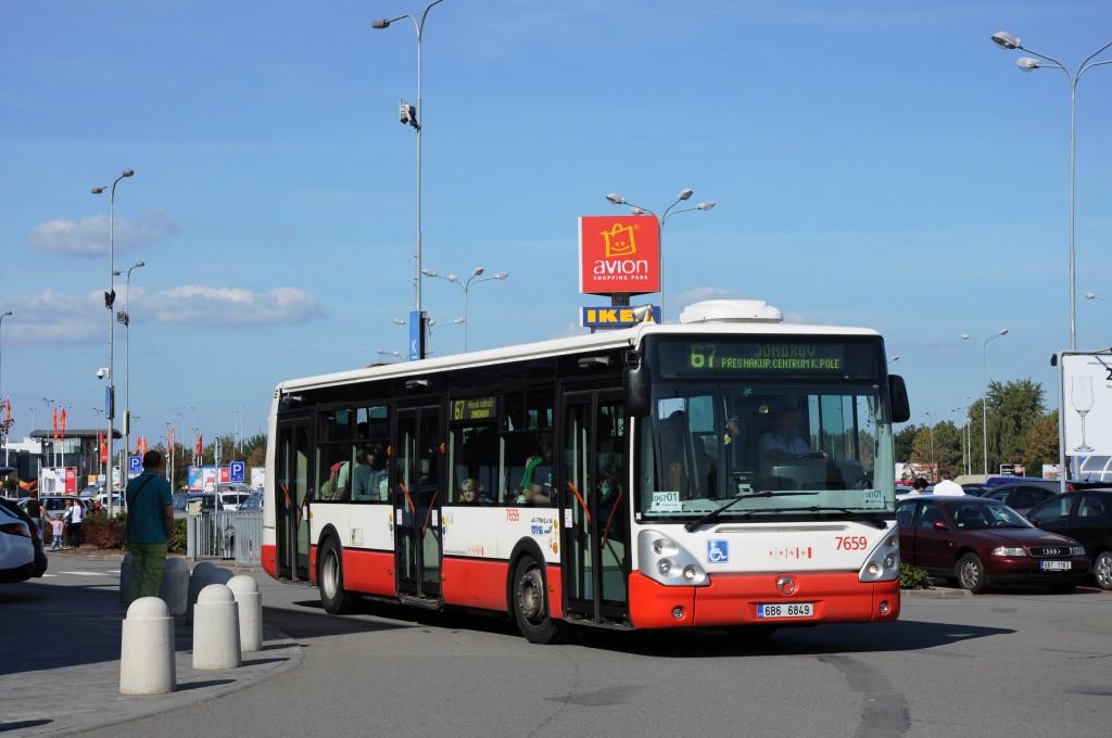 Fotogalerie » Irisbus Citelis 12M 6B6 6849 7659 | Brno | Dolní Heršpice | Skandinávská