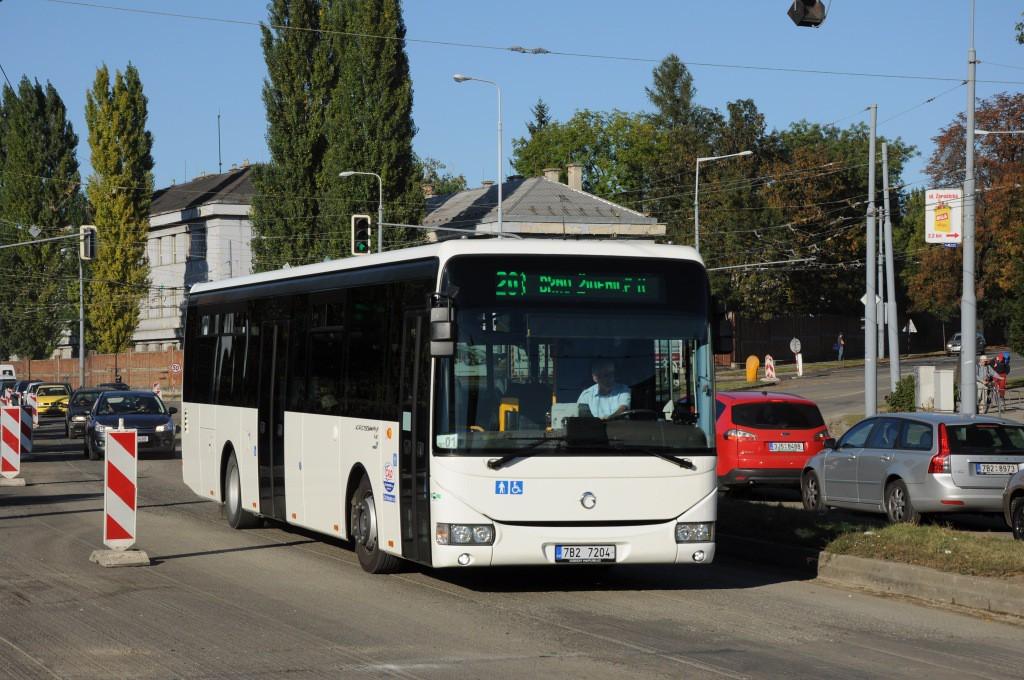 Fotogalerie » Irisbus Crossway LE 12M 7B2 7204 | Brno | Židenice | Svatoplukova | Svatoplukova