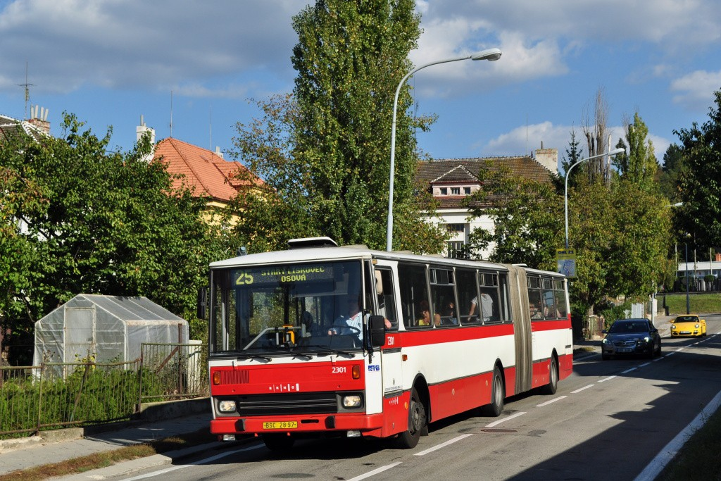 Fotogalerie » Karosa B741.1916 BSC 28-97 2301 | Brno | Židenice | Podsednická
