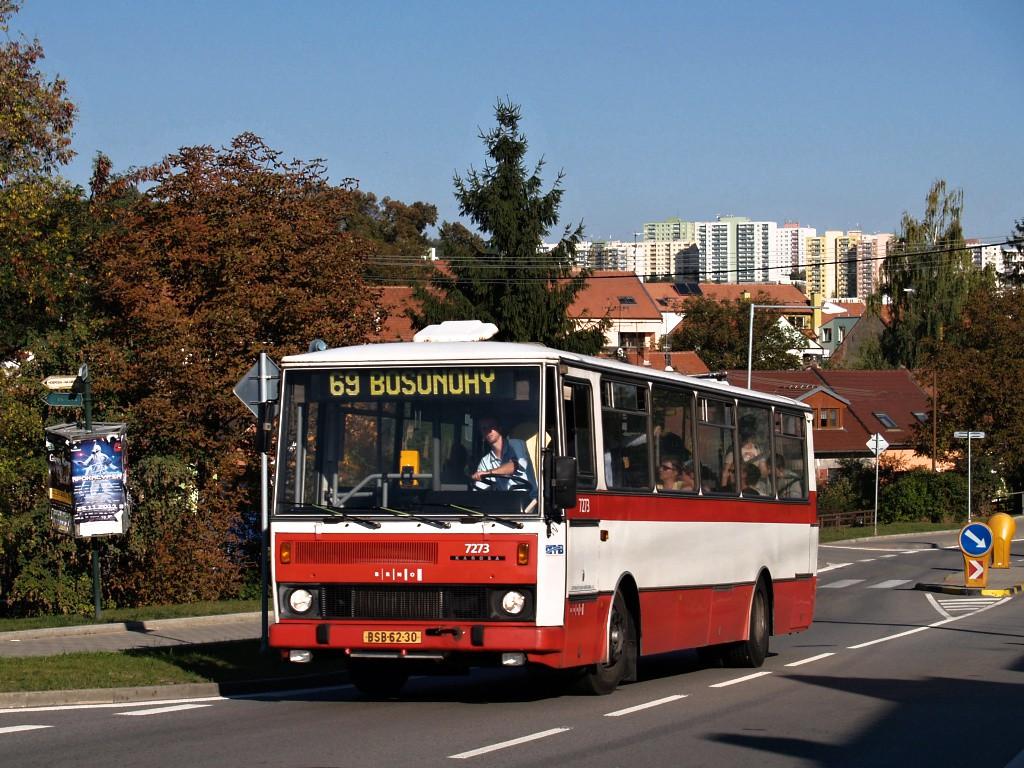 Fotogalerie » Karosa B732.40 BSB 62-30 7273 | Brno | Bosonohy | Pražská