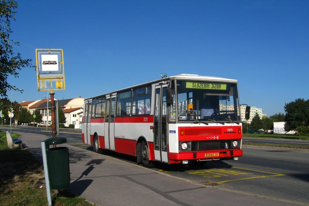 Fotogalerie » Karosa B732.40 BSB 62-30 7273 | Brno | Komárov | Černovická | Černovická