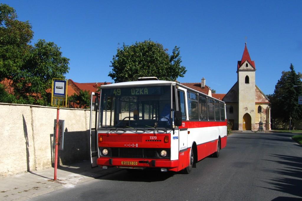 Fotogalerie » Karosa B732.40 BSB 62-30 7273 | Brno | Přízřenice | Břeclavská | Přízřenice smyčka