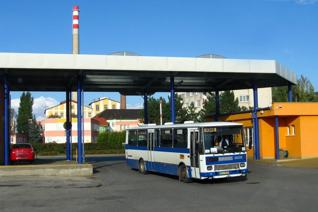 Fotogalerie » Karosa C734.1340 BVA 79-94 | Břeclav | Bratislavská | garáže Břeclav (BORS Břeclav)