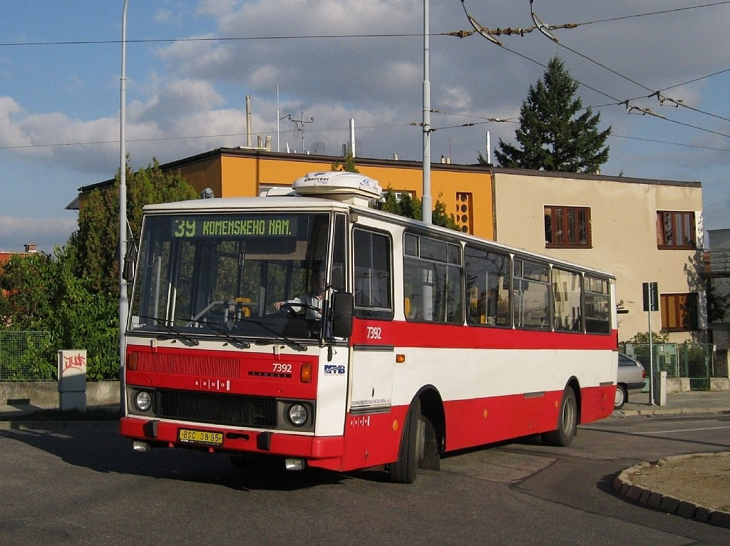 Fotogalerie » Karosa B732.1654.3 BSC 38-95 7392   Brno   Masarykova čtvrť   Barvičova   Barvičova