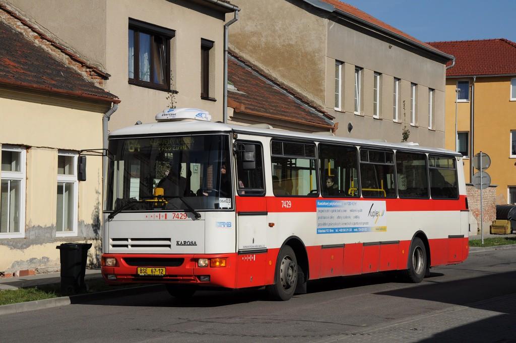 Fotogalerie » Karosa B931.1675 BSE 67-12 7429 | Brno | Židenice | Jílkova