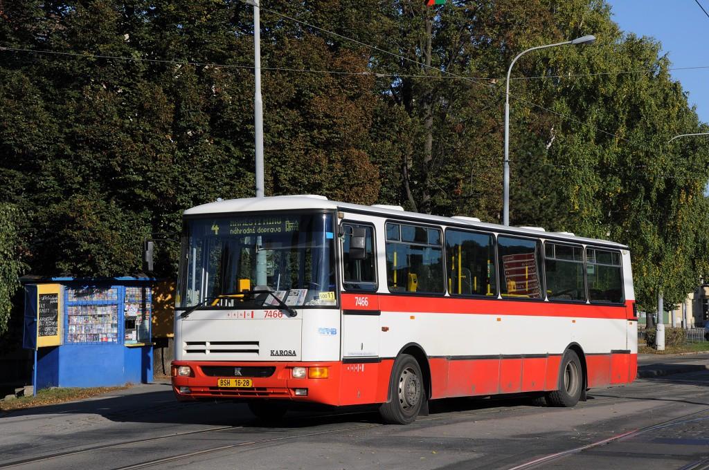 Fotogalerie » Karosa B931E.1707 BSH 16-28 7466 | Brno | Maloměřice | Dolnopolní | Maloměřický most