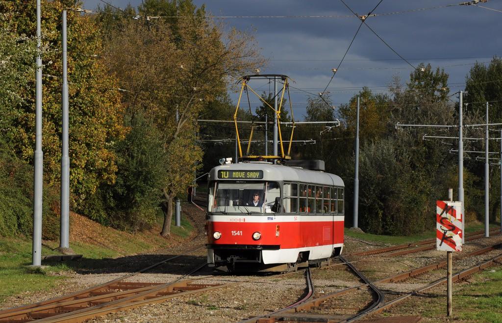 Fotogalerie » ČKD Tatra T3M 1541 | Brno | Juliánov