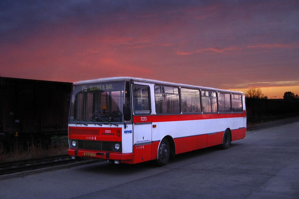 Fotogalerie » Karosa B732.40 BSB 62-30 7273 | Brno | Slatina | Drážní | Slatina nádraží