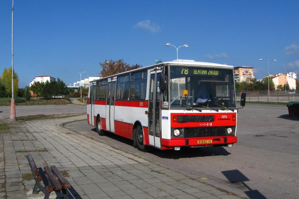Fotogalerie » Karosa B732.40 BSB 62-30 7273 | Brno | Líšeň | Trnkova | Zetor, smyčka