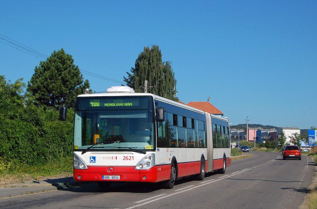 Fotogalerie » Irisbus Citelis 18M 6B6 6834 2621 | Popůvky | Jihlavská