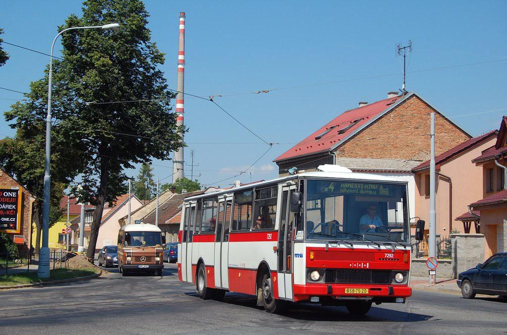 Fotogalerie » Karosa B732.1652 BSB 75-20 7292 | Brno | Maloměřice | Selská