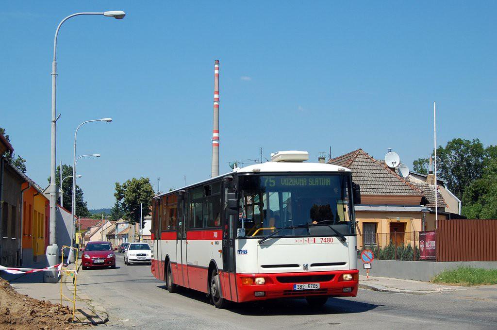 Fotogalerie » Karosa B951E.1713 3B2 5705 7480 | Brno | Maloměřice | Selská