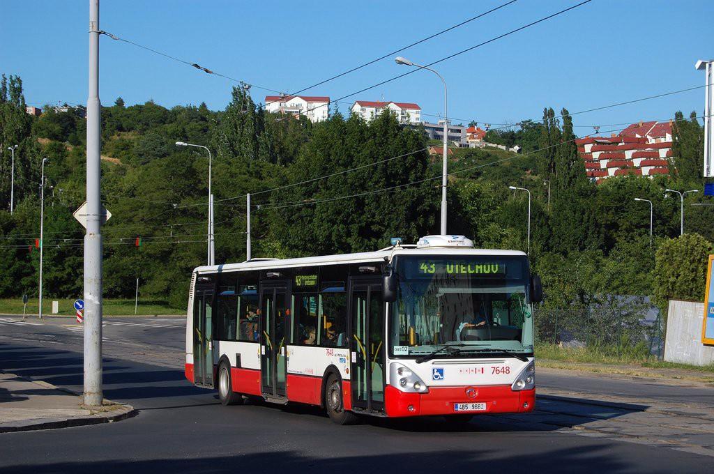Fotogalerie » Irisbus Citelis 12M 4B5 9662 7648 | Brno | Královo Pole | Kosmova