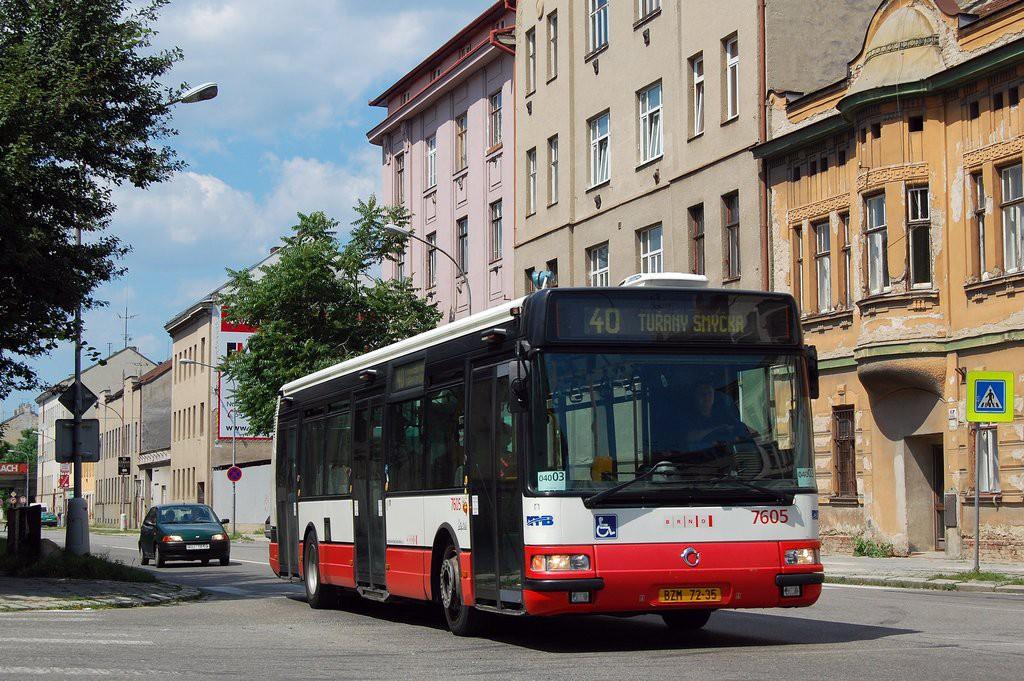 Fotogalerie » Irisbus Citybus 12M 2071.20 BZM 72-35 7605 | Brno | Trnitá | Plotní