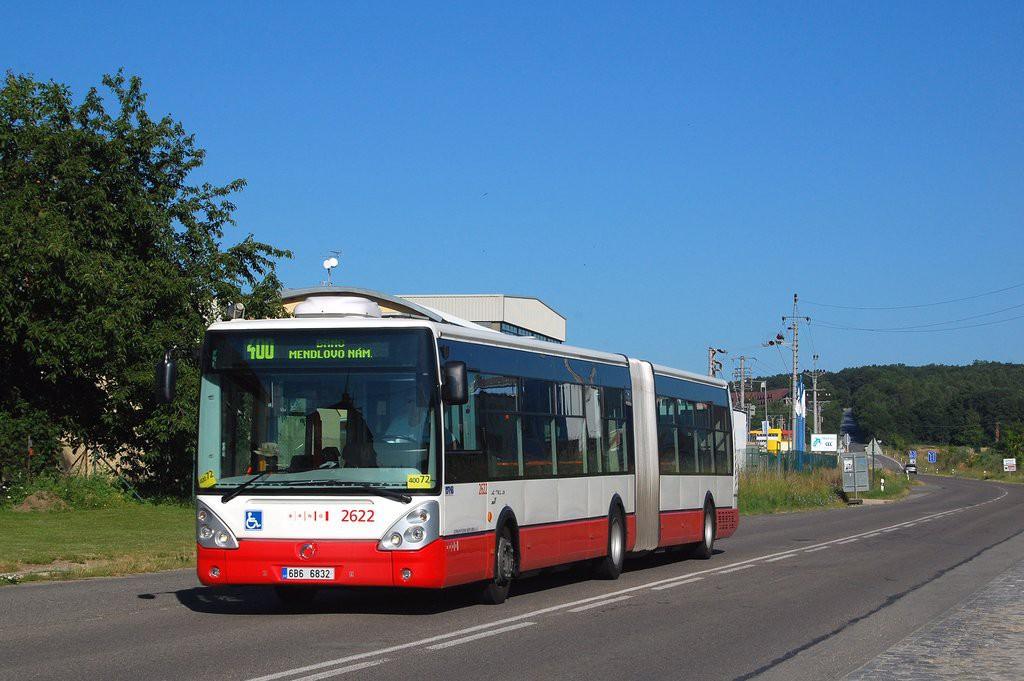 Fotogalerie » Irisbus Citelis 18M 6B6 6832 2622 | Popůvky | Jihlavská | Popůvky, Vintrovna