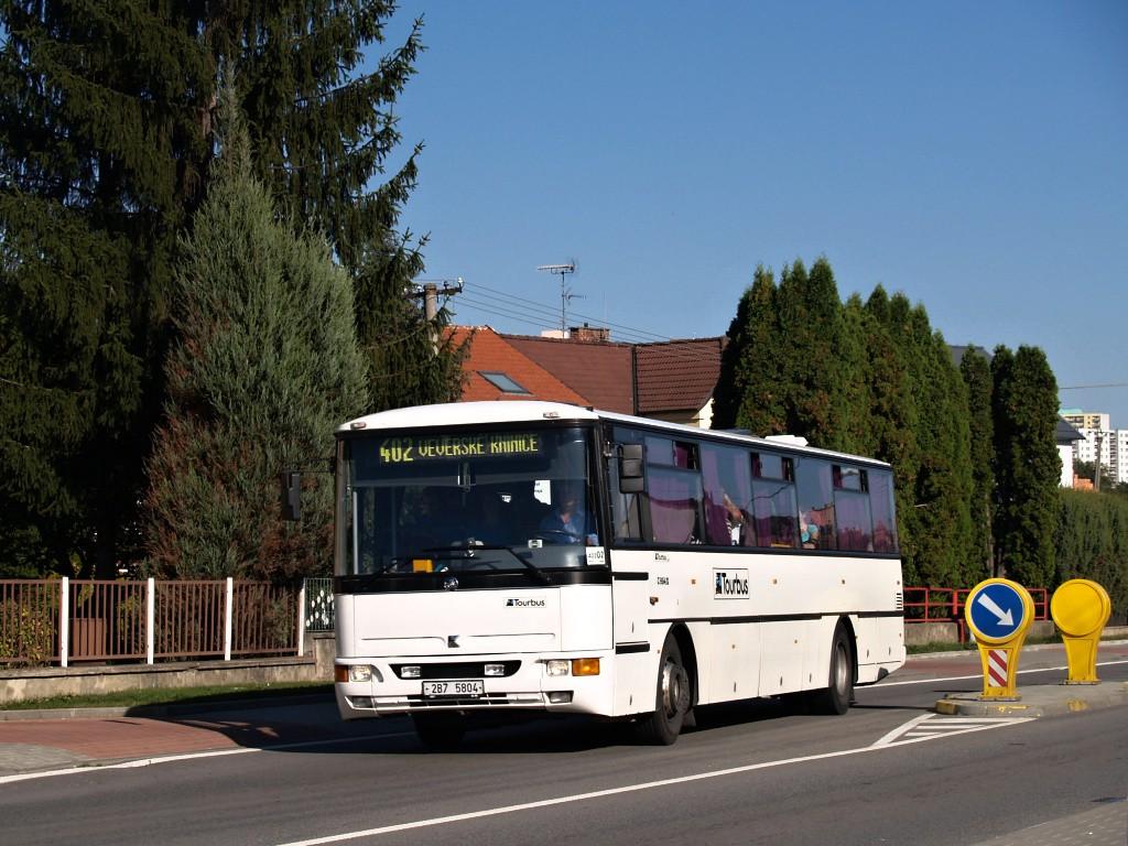 Fotogalerie » Karosa C954E.1360 2B7 5804 | Brno | Bosonohy | Pražská