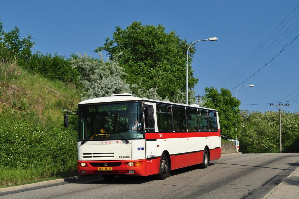 Fotogalerie » Karosa B931E.1707 BSH 16-32 7470 | Brno | Maloměřice | Hády