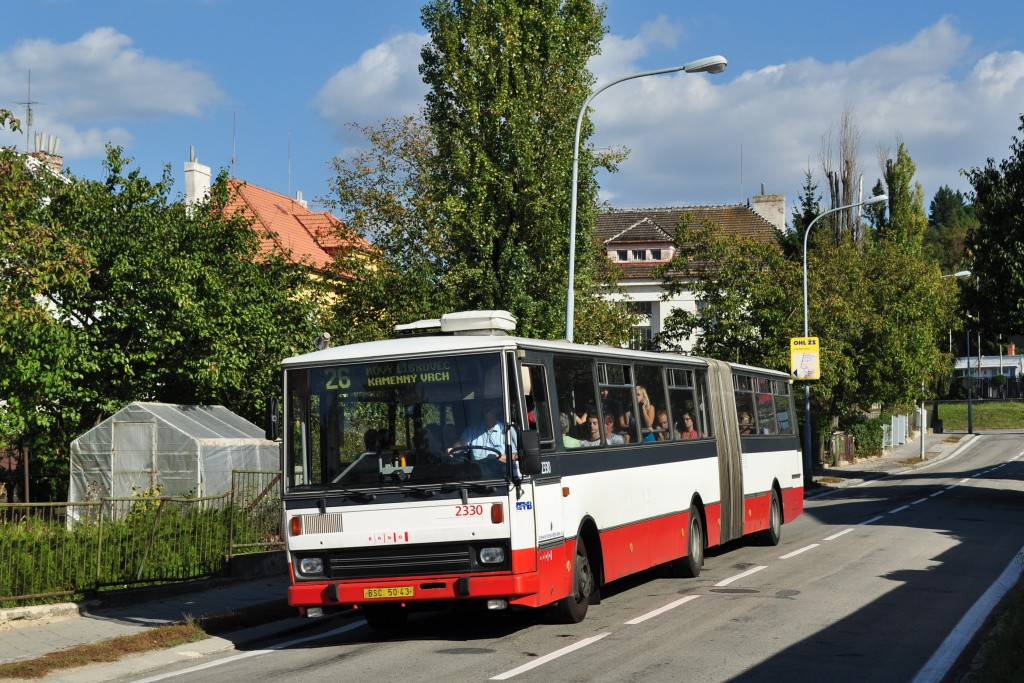 Fotogalerie » Karosa B741.1924 BSC 50-43 2330 | Brno | Židenice | Podsednická