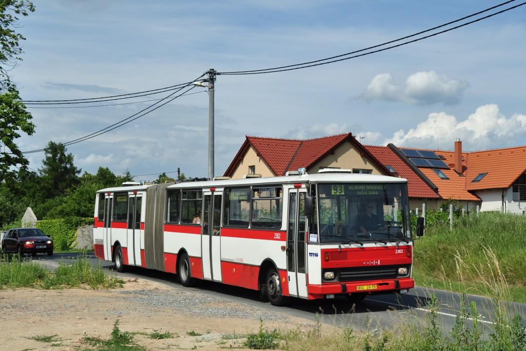 Fotogalerie » Karosa B741.1916 BSC 29-15 2302 | Brno | Sadová | Kociánka | Na kopcích